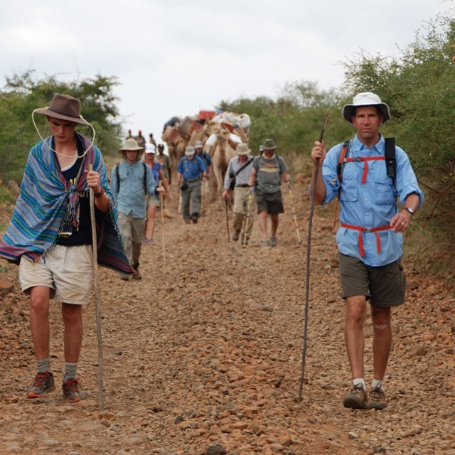 Each Walker pays their own way, raises $10,000, and creates awareness about AIDS orphans in Africa.  Bill Bonwell, on the right went on 2 Walks.  #properwalk #makinduchildrensprogram #dpennellbrooks